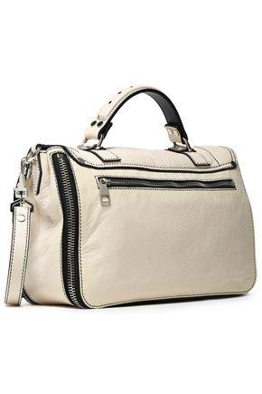 PROENZA SCHOULER Cracked-leather shoulder bag