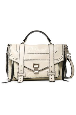 PROENZA SCHOULER Cracked-leather shoulder bag