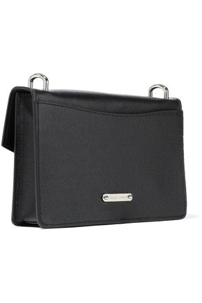 REBECCA MINKOFF Jean mini pebbled-leather shoulder bag