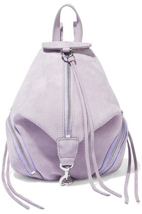 REBECCA MINKOFF Julian mini convertible nubuck backpack