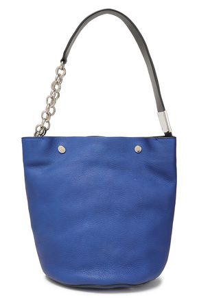 MARNI Textured-leather bucket bag