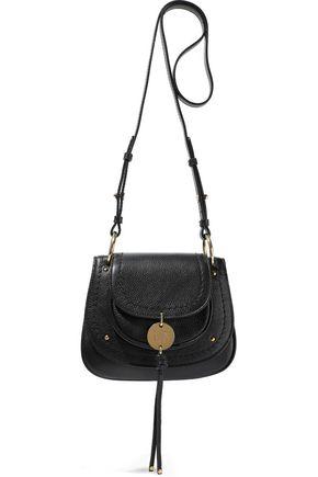 SEE BY CHLOÉ Pebbled-leather shoulder bag