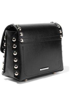REBECCA MINKOFF Blythe small studded leather shoulder bag