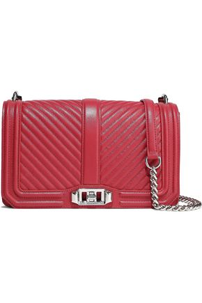 REBECCA MINKOFF Love quilted leather shoulder bag