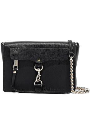 REBECCA MINKOFF M.A.B. pebbled-leather shoulder bag