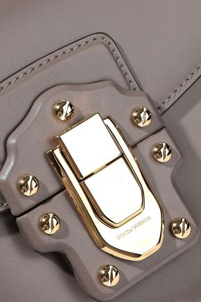 DOLCE & GABBANA Lucia leather clutch