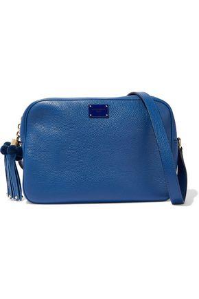 DOLCE & GABBANA Glam embellished pebbled-leather shoulder bag