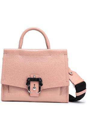 PAULA CADEMARTORI Cracked-leather shoulder bag