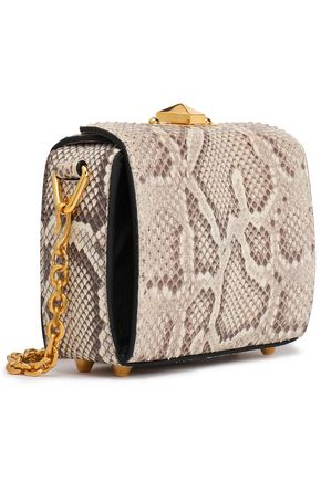 ALEXANDER MCQUEEN Snakeskin shoulder bag