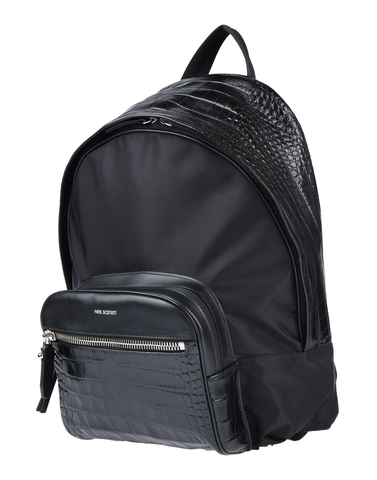NEIL BARRETT Рюкзаки и сумки на пояс
