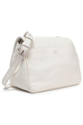 KARA Textured-leather shoulder bag