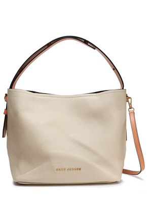 MARC JACOBS Pebbled-leather shoulder bag