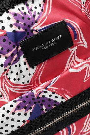 MARC JACOBS Biker floral-print shell backpack