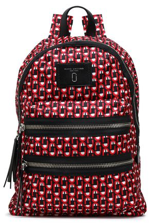 MARC JACOBS Printed shell backpack