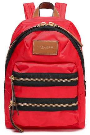MARC JACOBS Color-block shell backpack