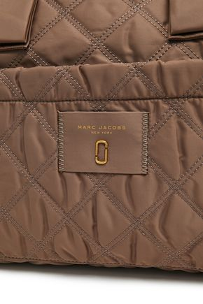 MARC JACOBS Quilted shell tote