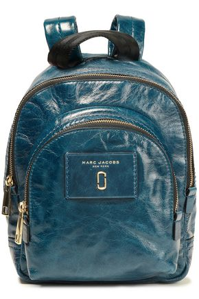 MARC JACOBS Cracked patent-leather backpack