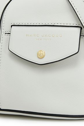 MARC JACOBS Printed textured-leather shoulder bag