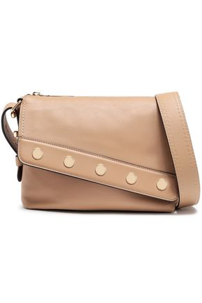 MARC JACOBS Mini Downtown studded leather shoulder bag