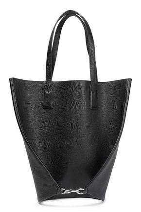 MARC JACOBS Wingman pebbled-leather tote