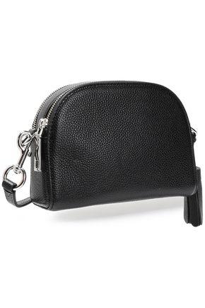 MARC JACOBS Tasseled textured-leather shoulder bag