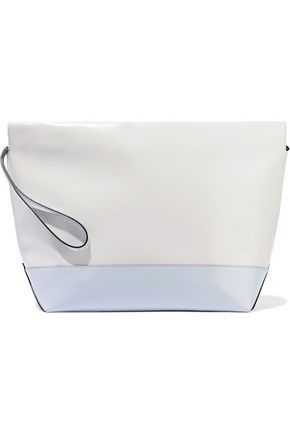 MARNI Two-tone leather pouch