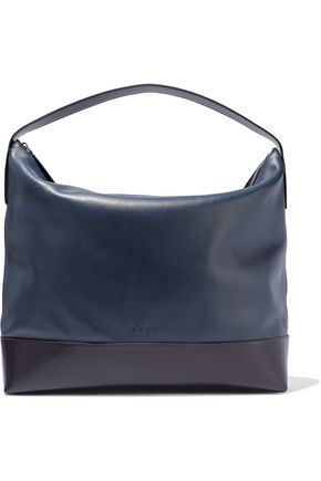 MARNI Two-tone leather tote