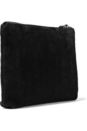 ANN DEMEULEMEESTER Suede pouch