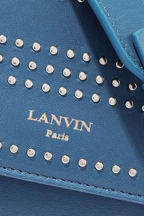 LANVIN Studded leather shoulder bag