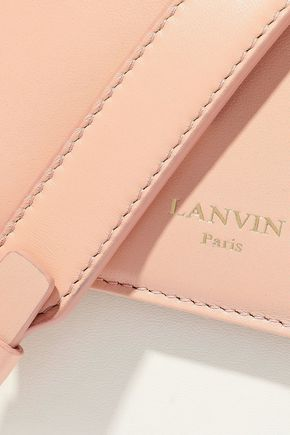 LANVIN Sugar mini color-block leather shoulder bag