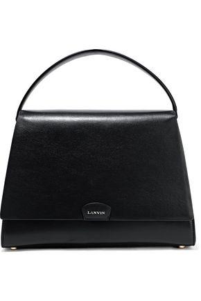 LANVIN Trapeze mini leather tote
