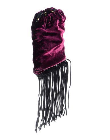 Фото 2 - Сумку через плечо фиолетового цвета