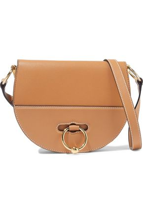 J.W.ANDERSON Latch small smooth and textured-leather shoulder bag