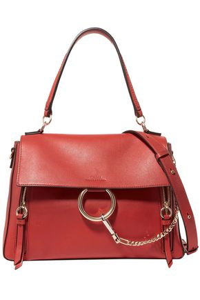 CHLOÉ Faye Day large leather shoulder bag