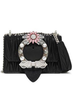 MIU MIU Miu Lady Matelassé leather shoulder bag