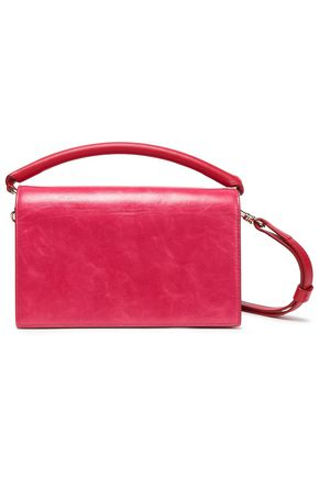 DIANE VON FURSTENBERG Leather shoulder bag