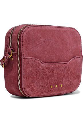 JÉRÔME DREYFUSS Embellished suede shoulder bag