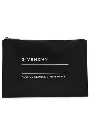 GIVENCHY Printed leather pouch