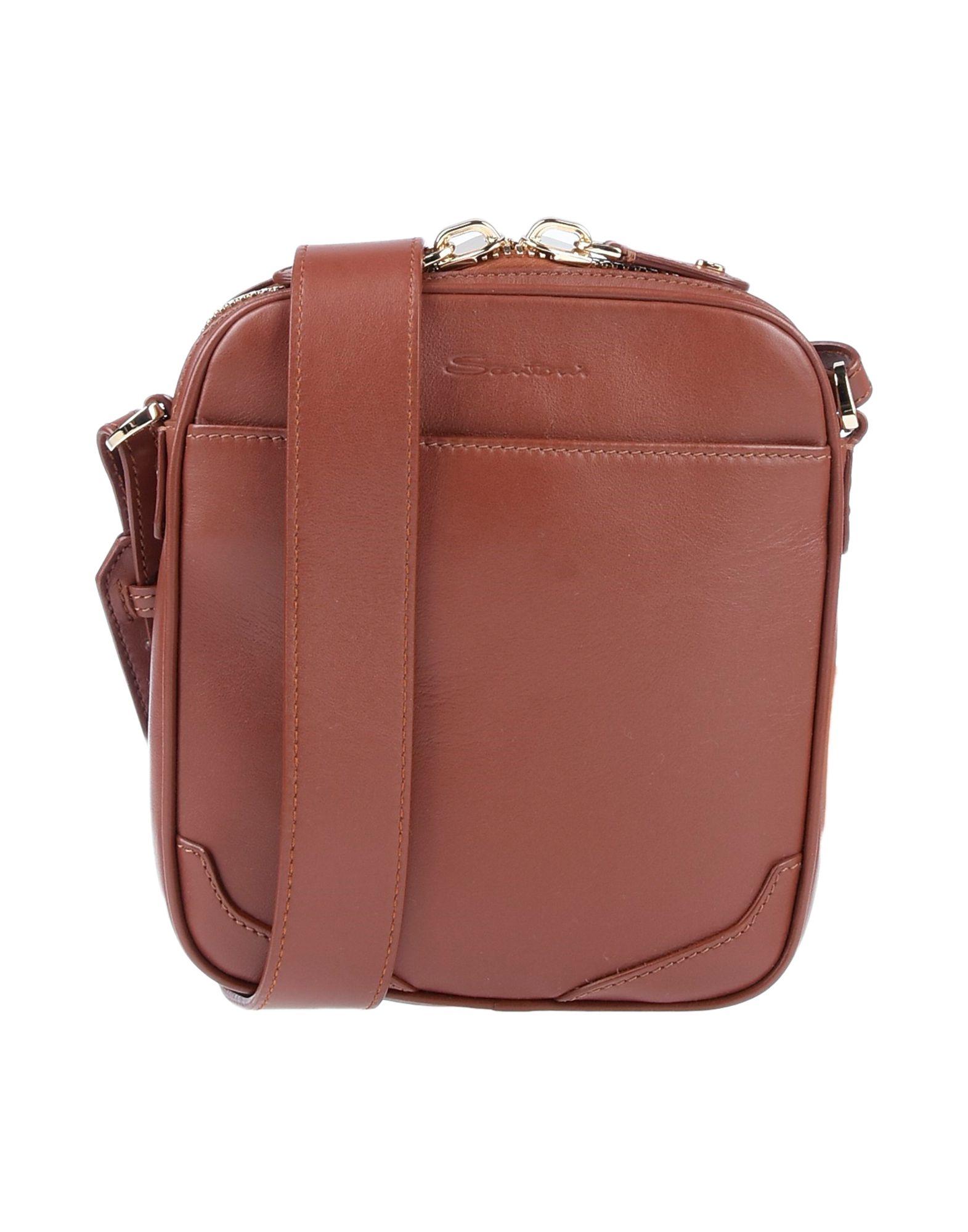 SANTONI Сумка через плечо santoni сумка на плечо