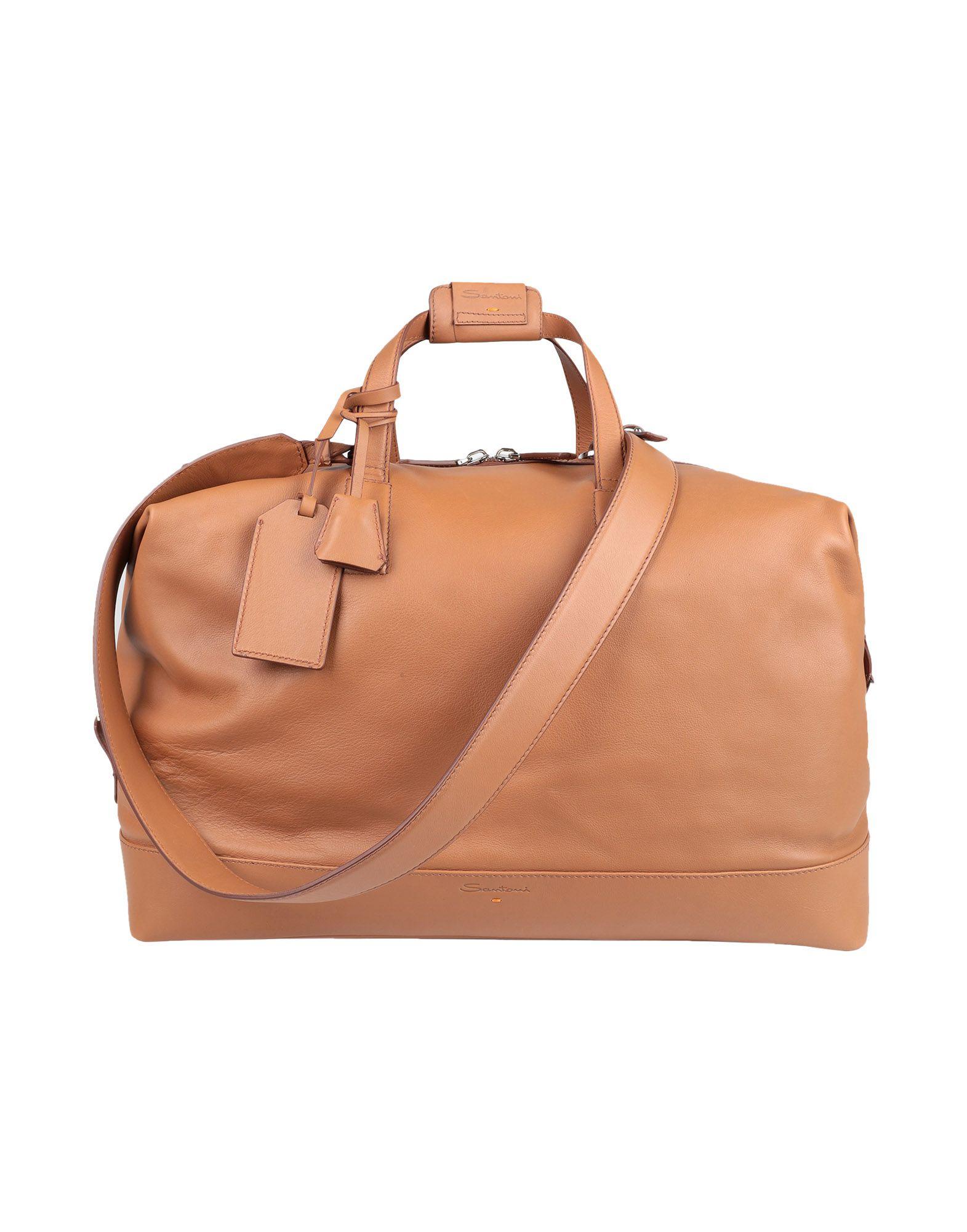 SANTONI Дорожная сумка santoni сумка на плечо