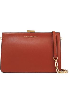DONNA KARAN Leather clutch