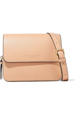 DONNA KARAN Textured-leather shoulder bag