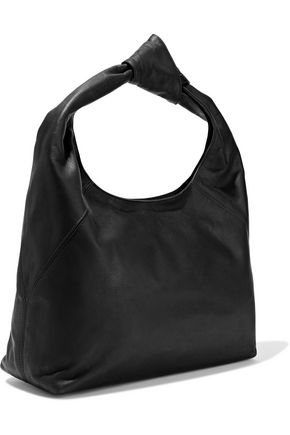 DONNA KARAN Kali large knotted leather shoulder bag