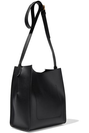 fa12184bd DONNA KARAN Columbus buckle-detailed leather bucket bag