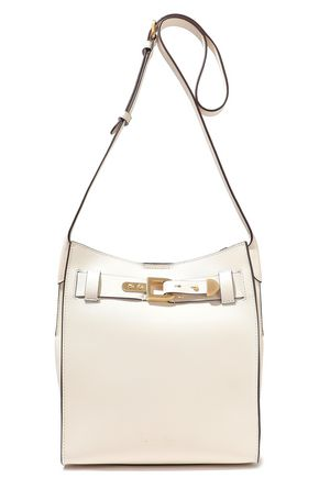 DONNA KARAN Columbus buckle-detailed leather bucket bag