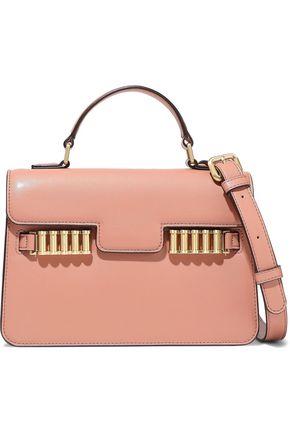 DONNA KARAN Paola small embellished leather shoulder bag
