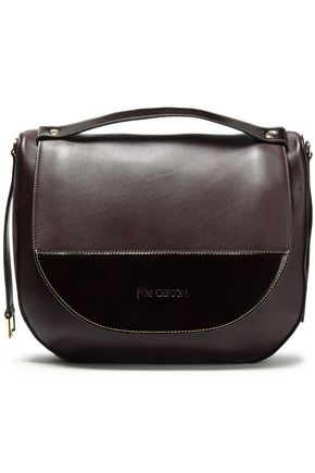 J.W.ANDERSON Paneled leather and suede shoulder bag