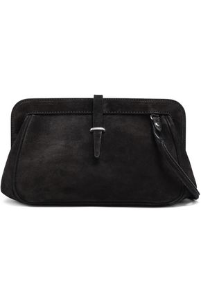 ANN DEMEULEMEESTER Suede shoulder bag