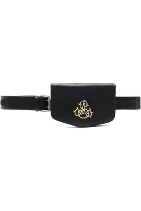 ANN DEMEULEMEESTER Embroidered leather belt bag