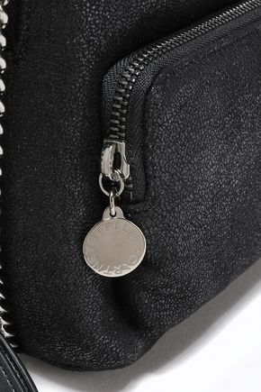 STELLA McCARTNEY Falabella mini faux brushed-leather backpack